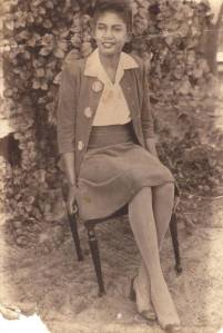G-mother Bernice (Lewis) Bynum circa 1946